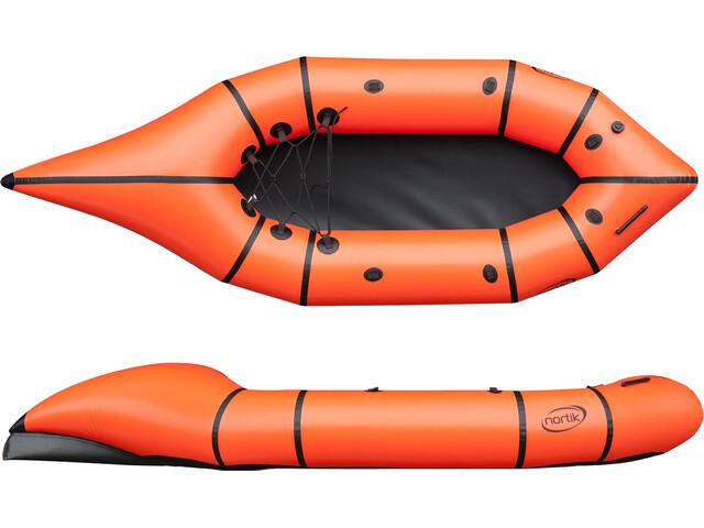 nortik CityRaft Boat orange/black